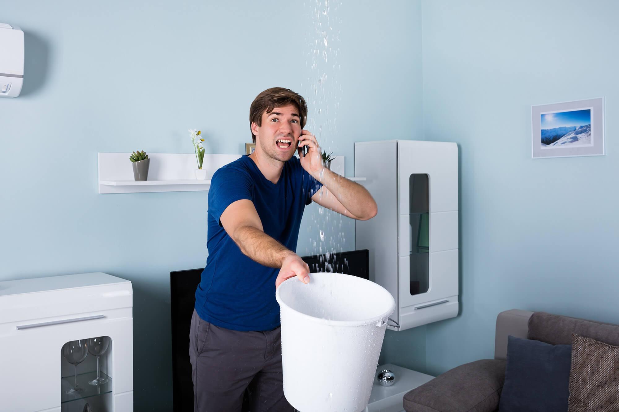 Затопили соседи. Как правильно убрать?