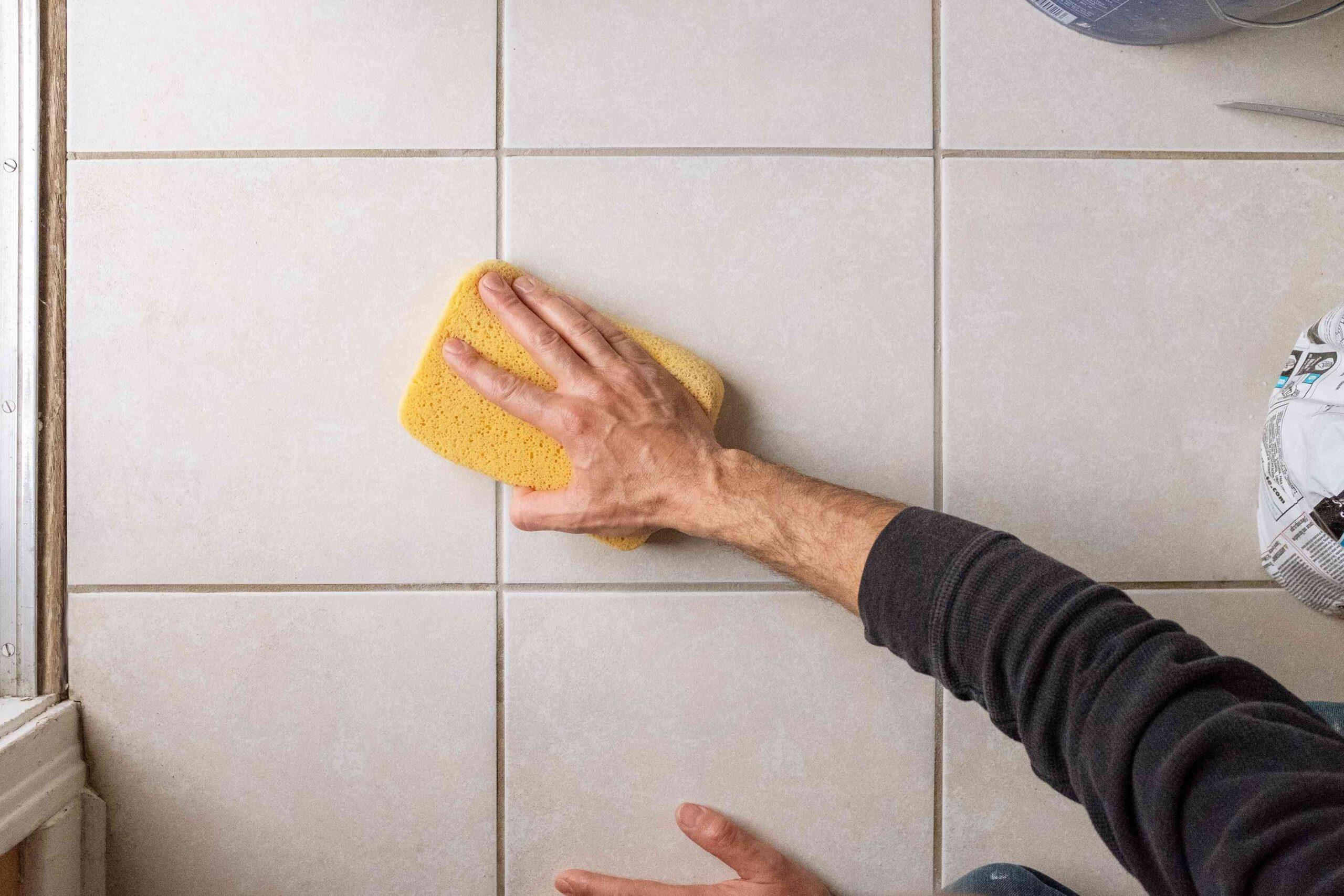 Как очистить затирку швов между плиткой