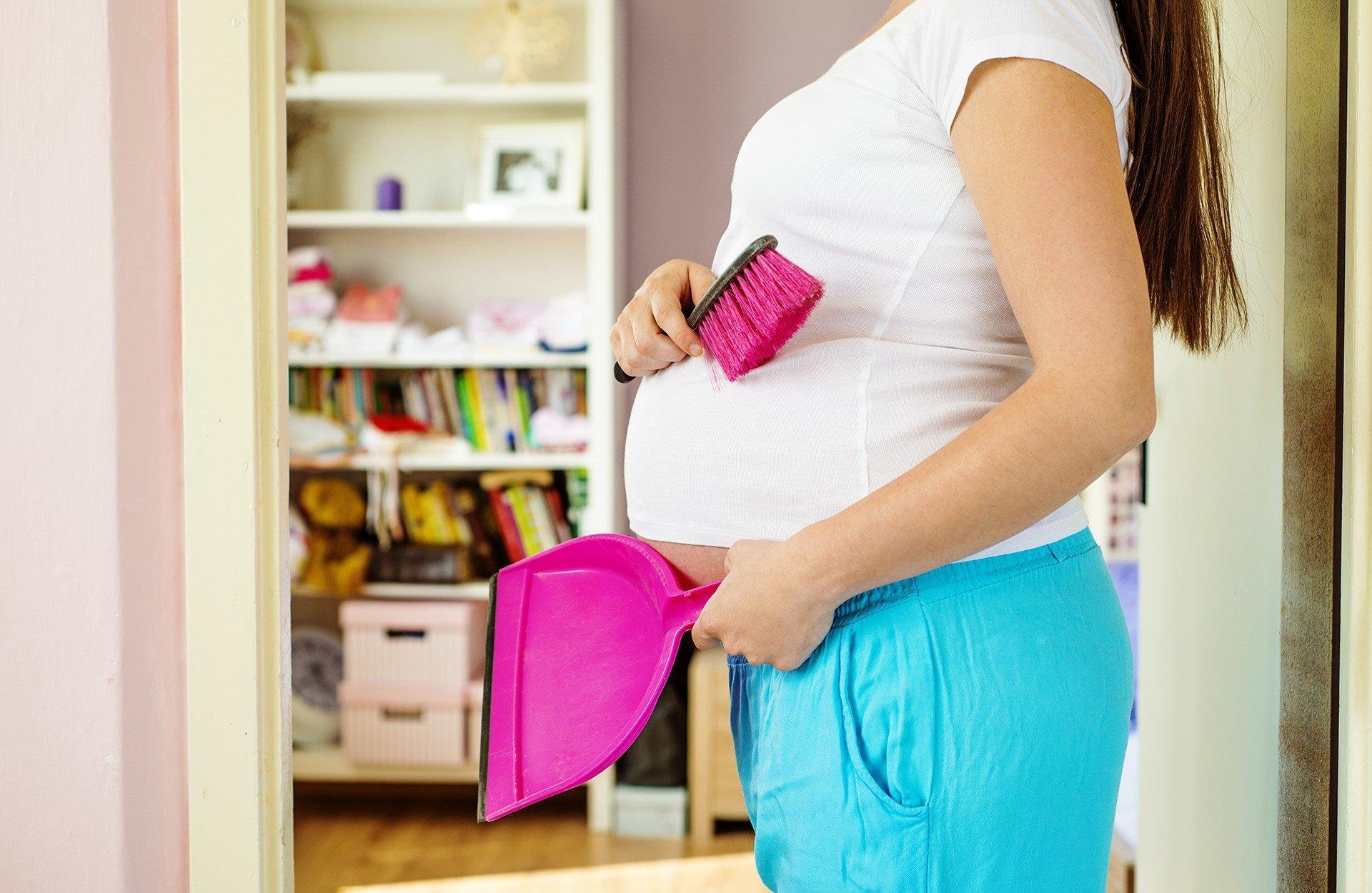Уборка перед рождением ребенка доверьте уборку профессионалам