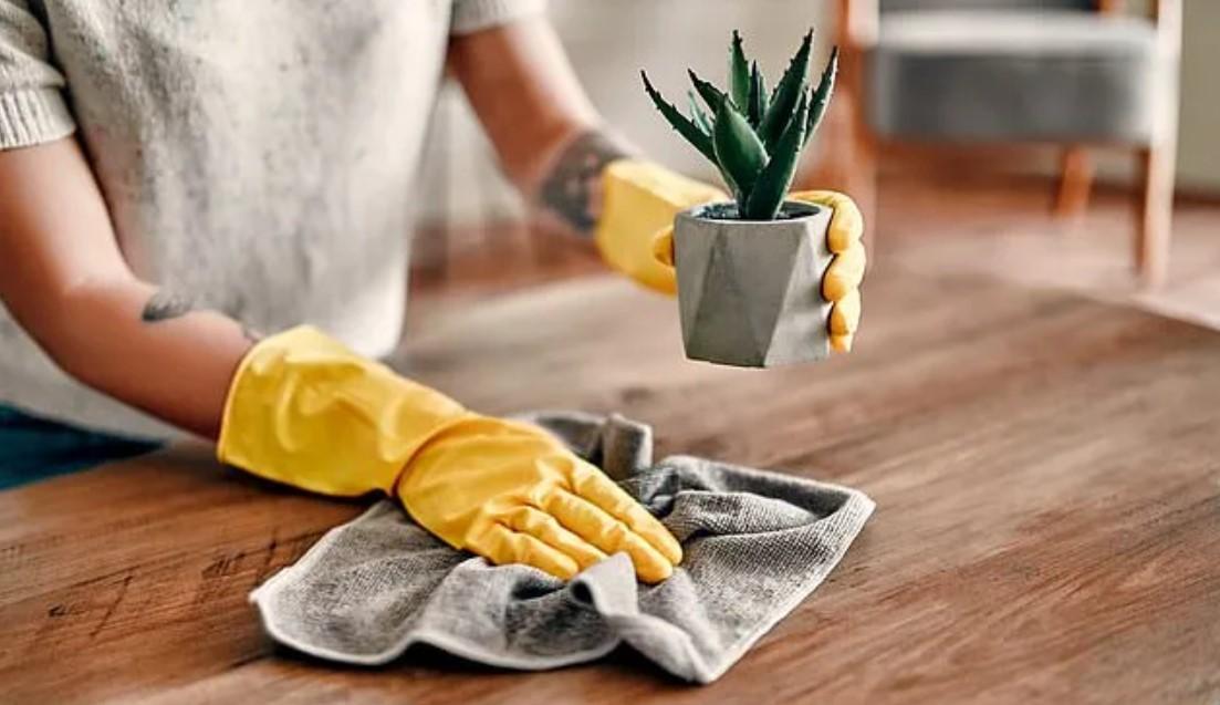 Как правильно вытирать пыль с мебели?