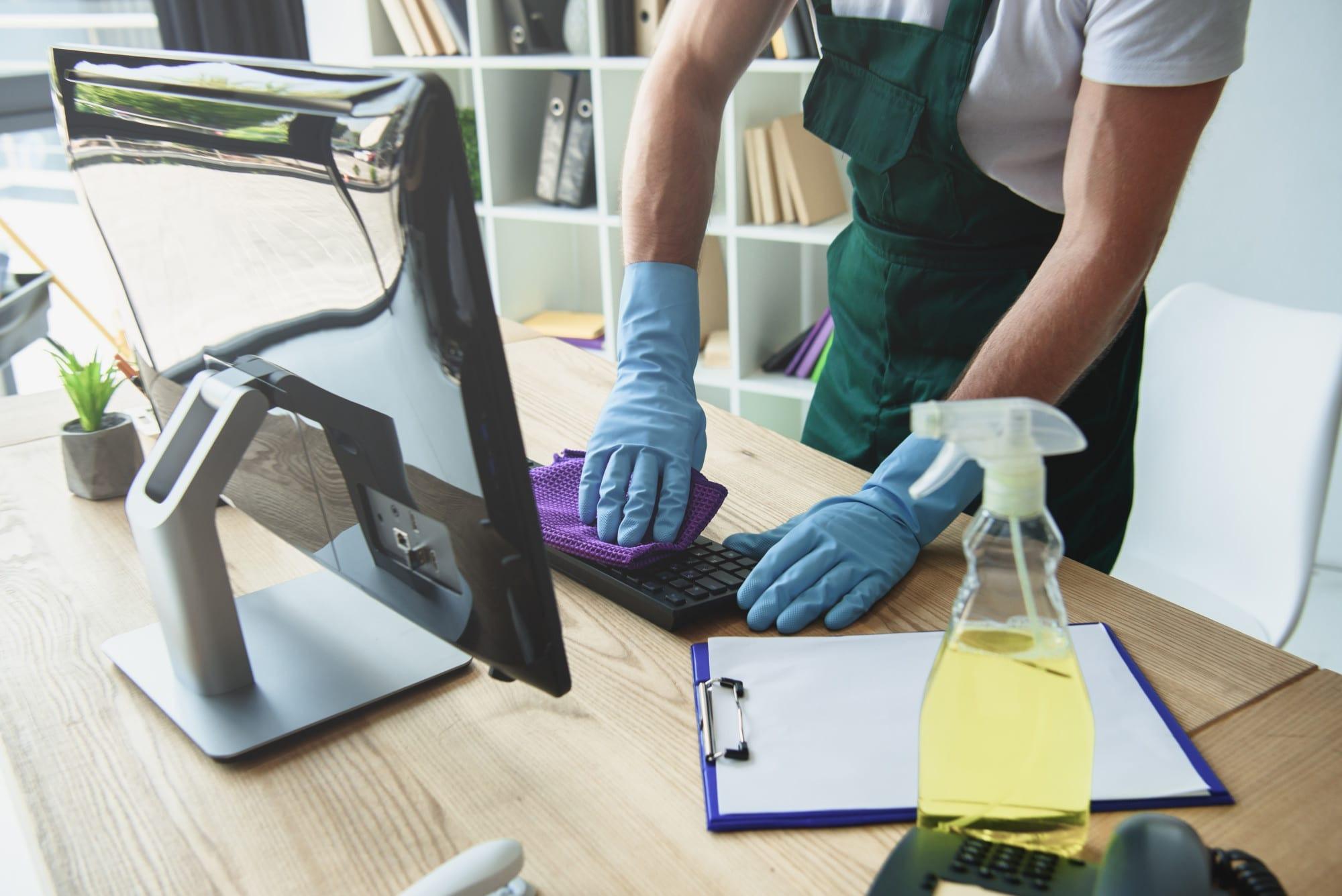 Плюсы профессиональной уборки офисов